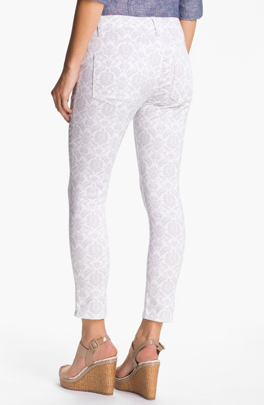 Alternate Image 2  - Liverpool Jeans Company 'Abby' Skinny Print Ankle Jeans