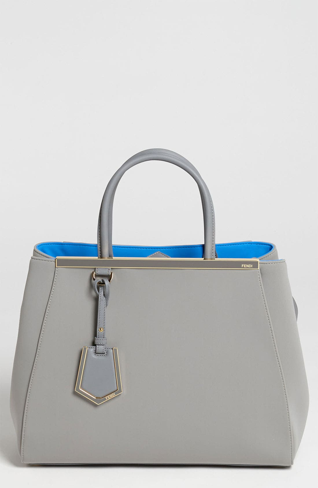 Main Image - Fendi 'Medium 2Jours' Neoprene Satchel