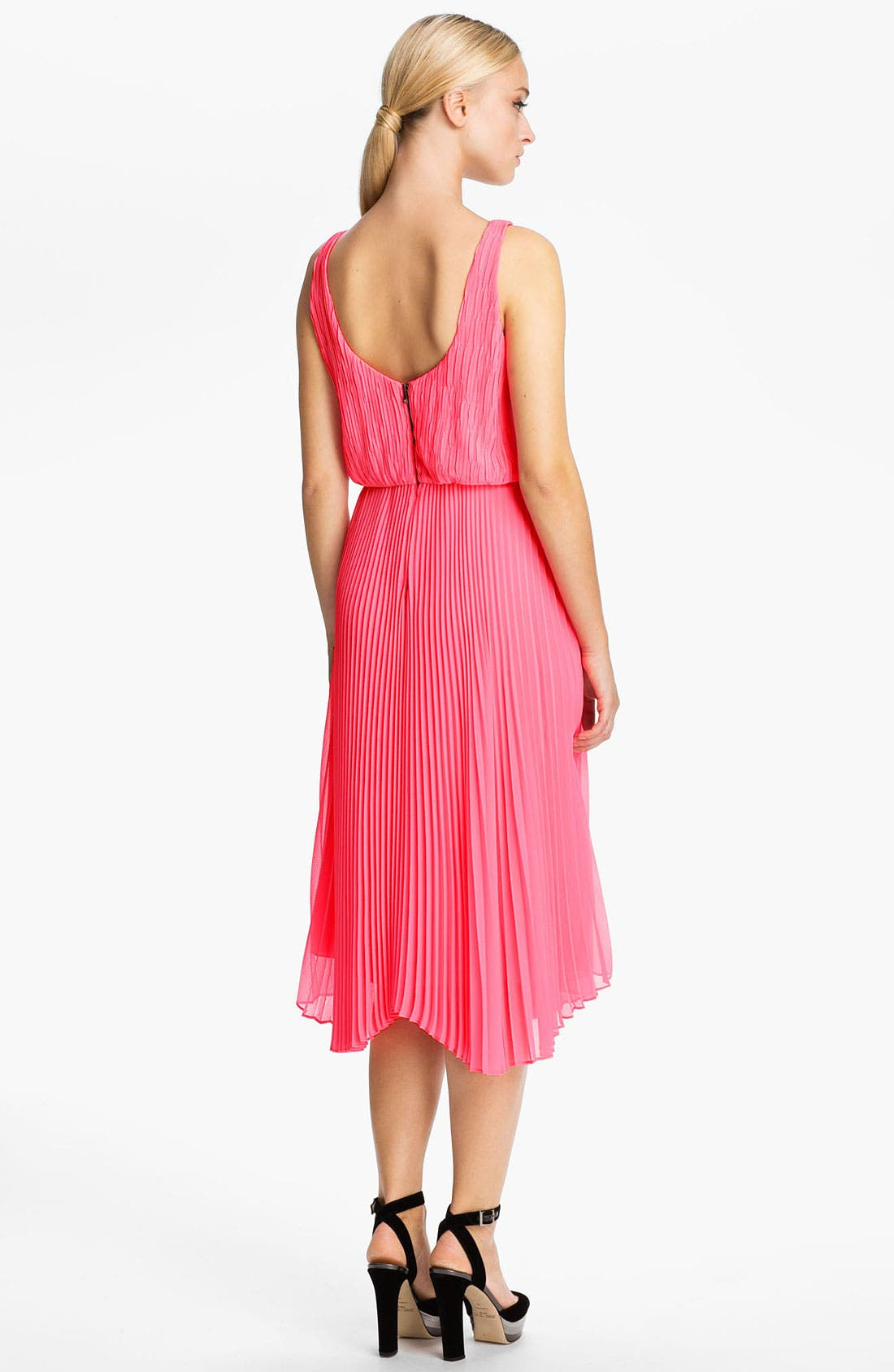 Alternate Image 2  - Alice + Olivia Double Layer Tank Dress
