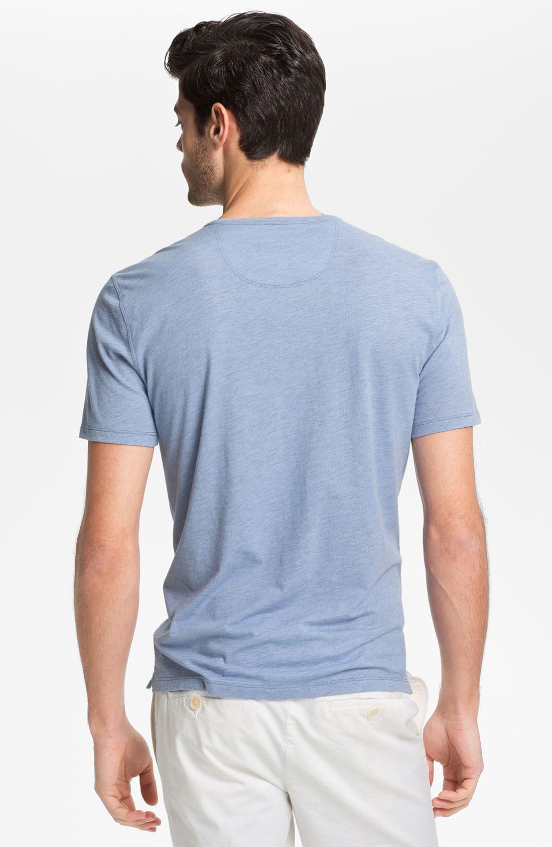 Alternate Image 2  - Vince Short Sleeve Henley T-Shirt