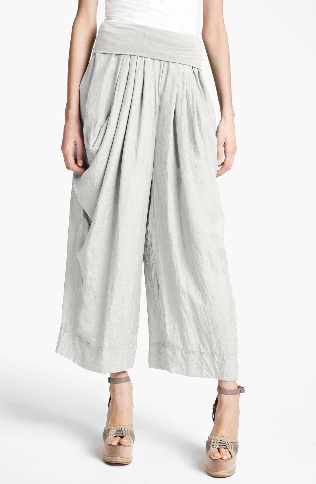 Main Image - Donna Karan Collection Draped Gaucho Pants