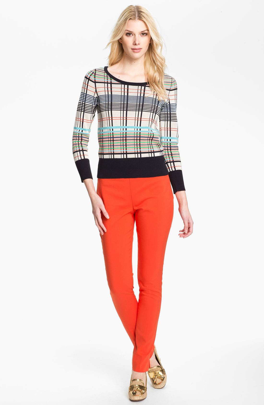 Alternate Image 1 Selected - Tory Burch 'Falon' Sweater