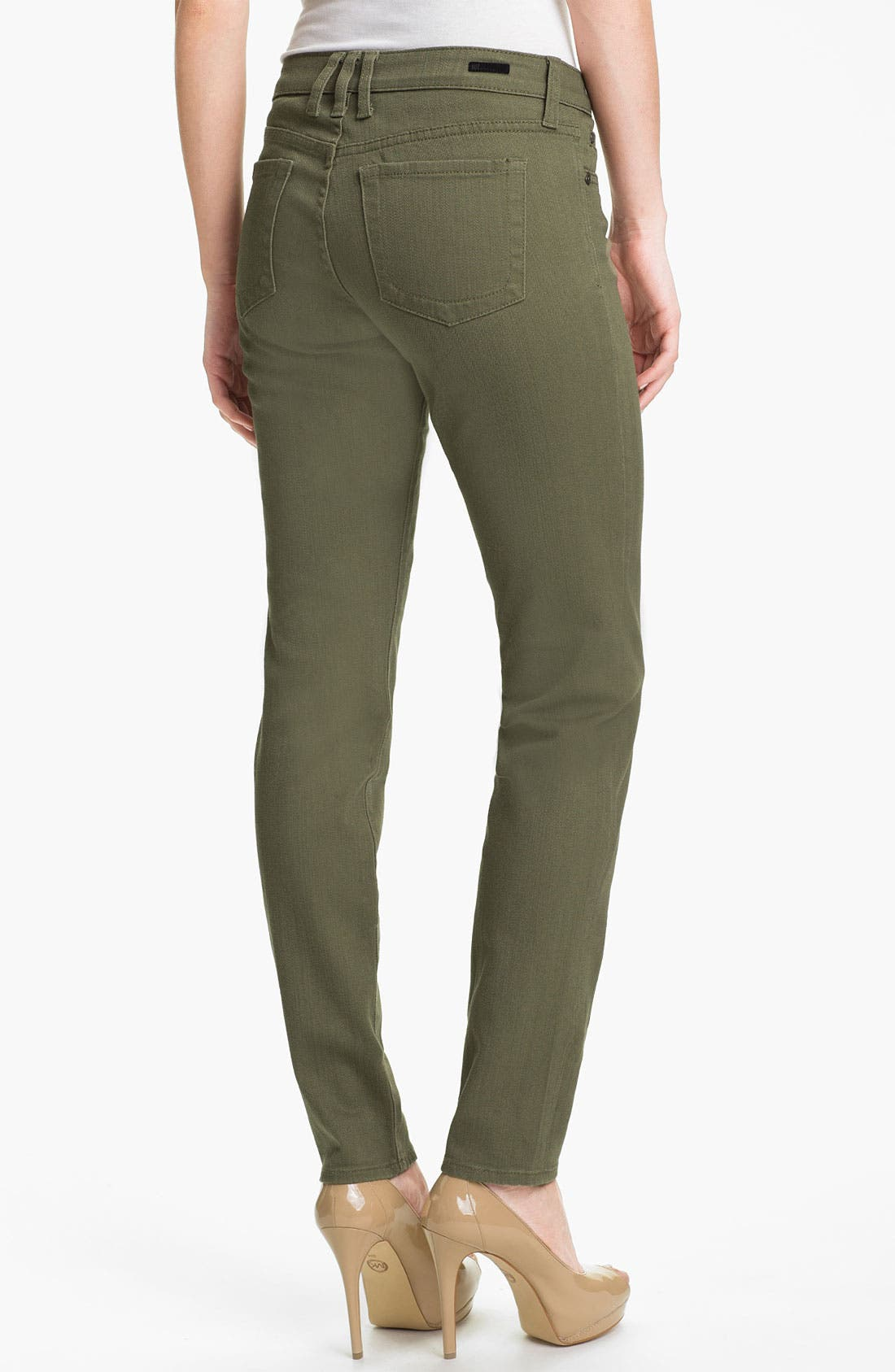 Alternate Image 2  - KUT from the Kloth 'Diana' Skinny Jeans (Pacific Olive)