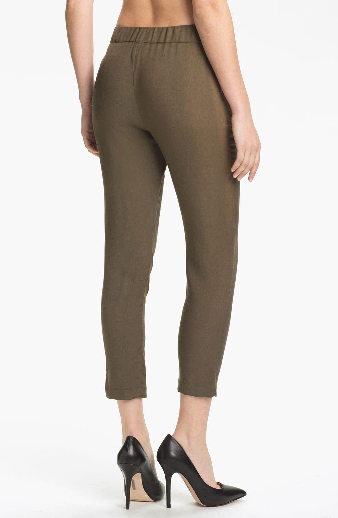 Alternate Image 2  - Ella Moss 'Aiselin' Tapered Crop Pants