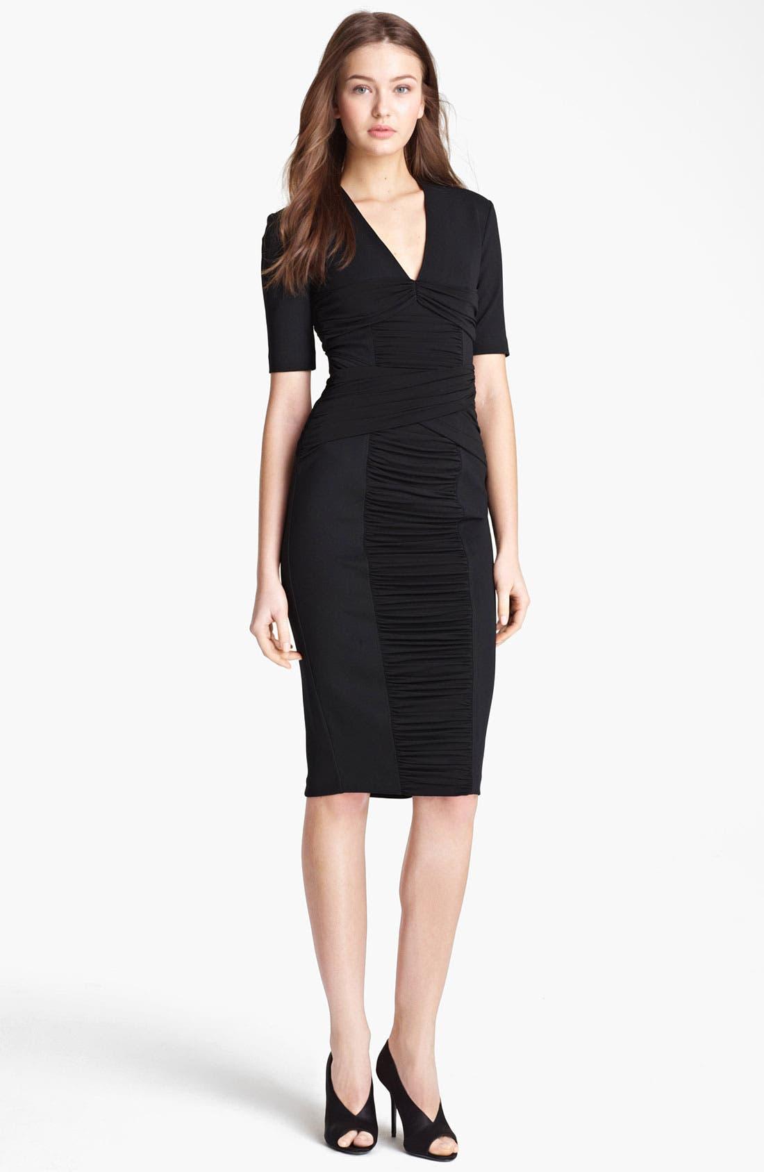 Main Image - Burberry London Twisted Jersey Dress