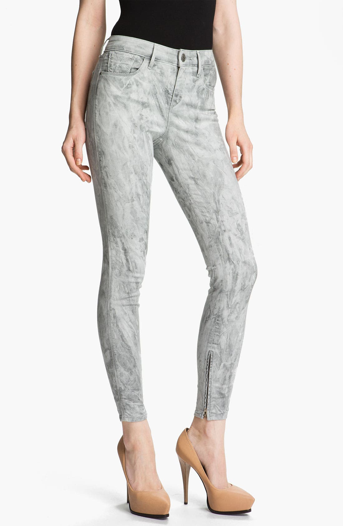 Alternate Image 1 Selected - Habitual 'Almas' Marbled Skinny Stretch Jeans