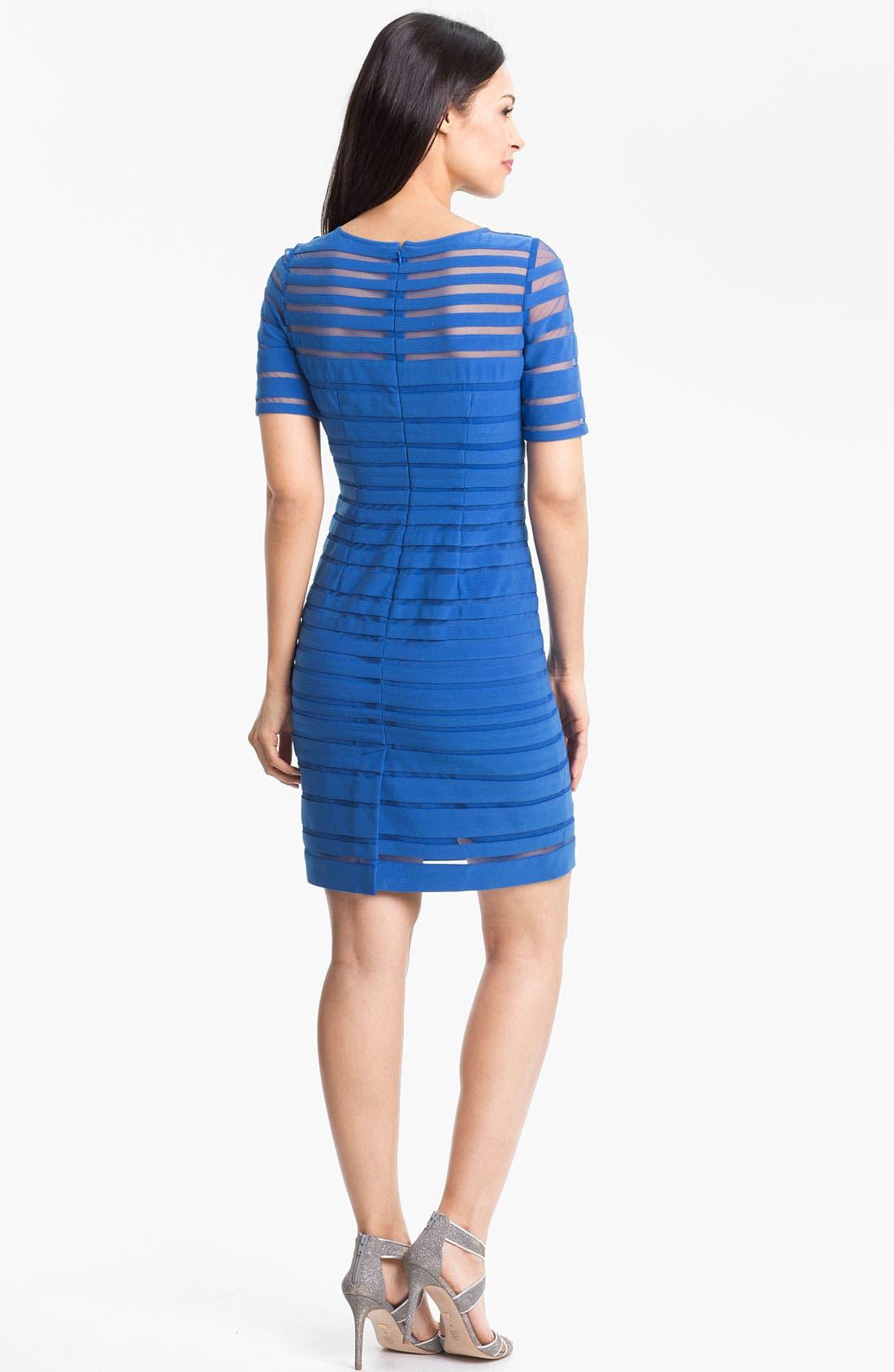 Alternate Image 2  - Adrianna Papell Banded Sheath Dress