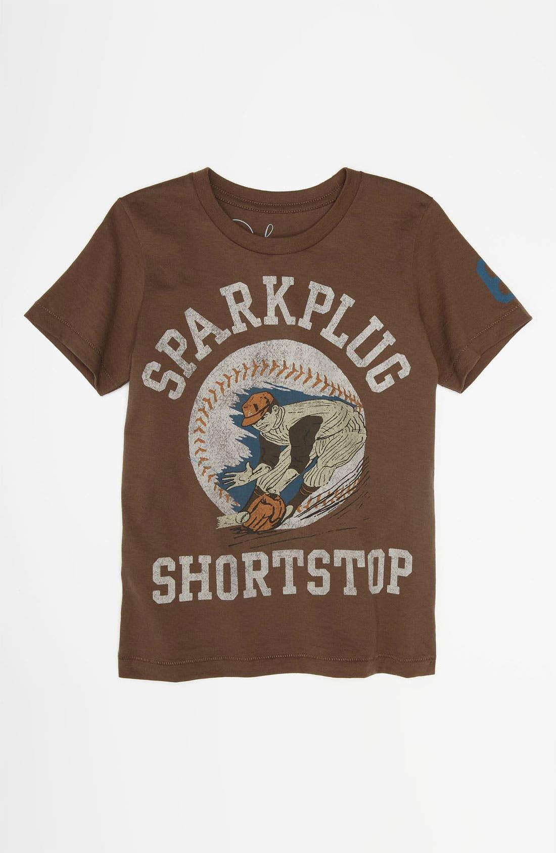 Alternate Image 1 Selected - Peek 'Shortstop' T-Shirt (Toddler, Little Boys & Big Boys)