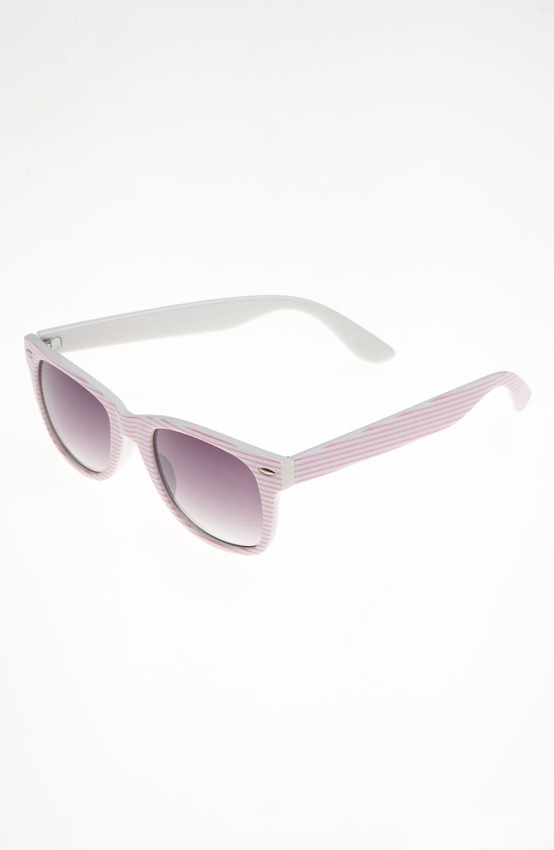 Alternate Image 1 Selected - Icon Eyewear Stripe Sunglasses (Girls)