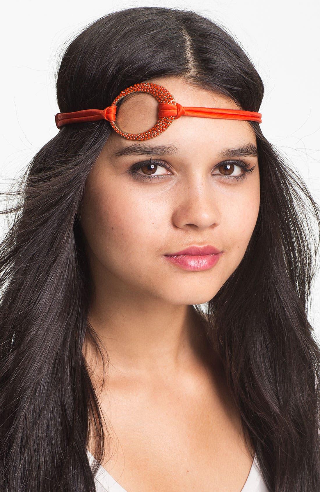 Alternate Image 1 Selected - Tasha Pavé Pendant Head Wrap