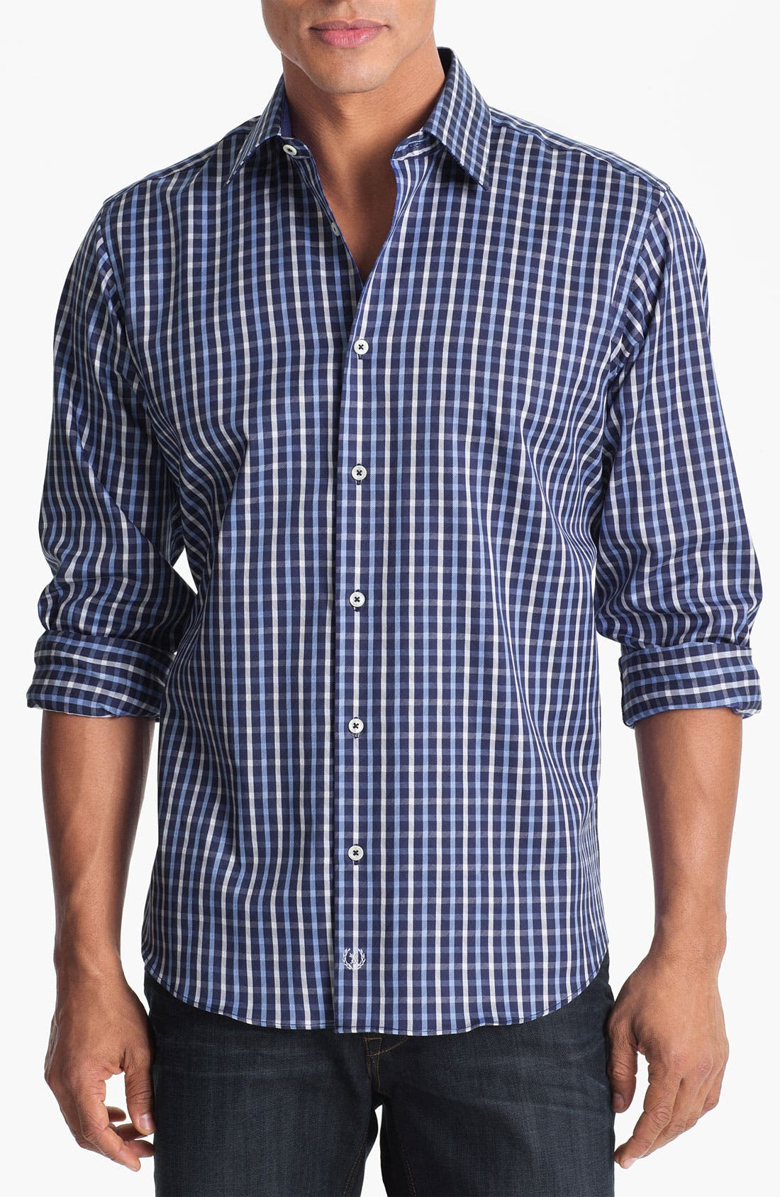 Alternate Image 1 Selected - BUGATCHI Classic Fit Sport Shirt