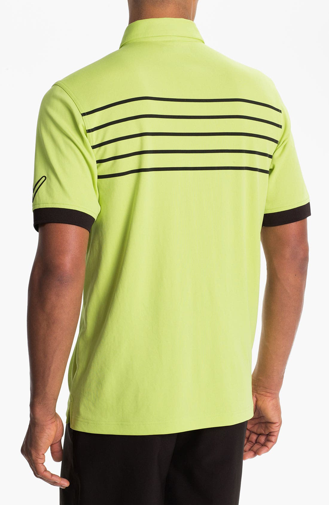 Alternate Image 2  - Callaway Golf® Stripe Regular Fit Polo