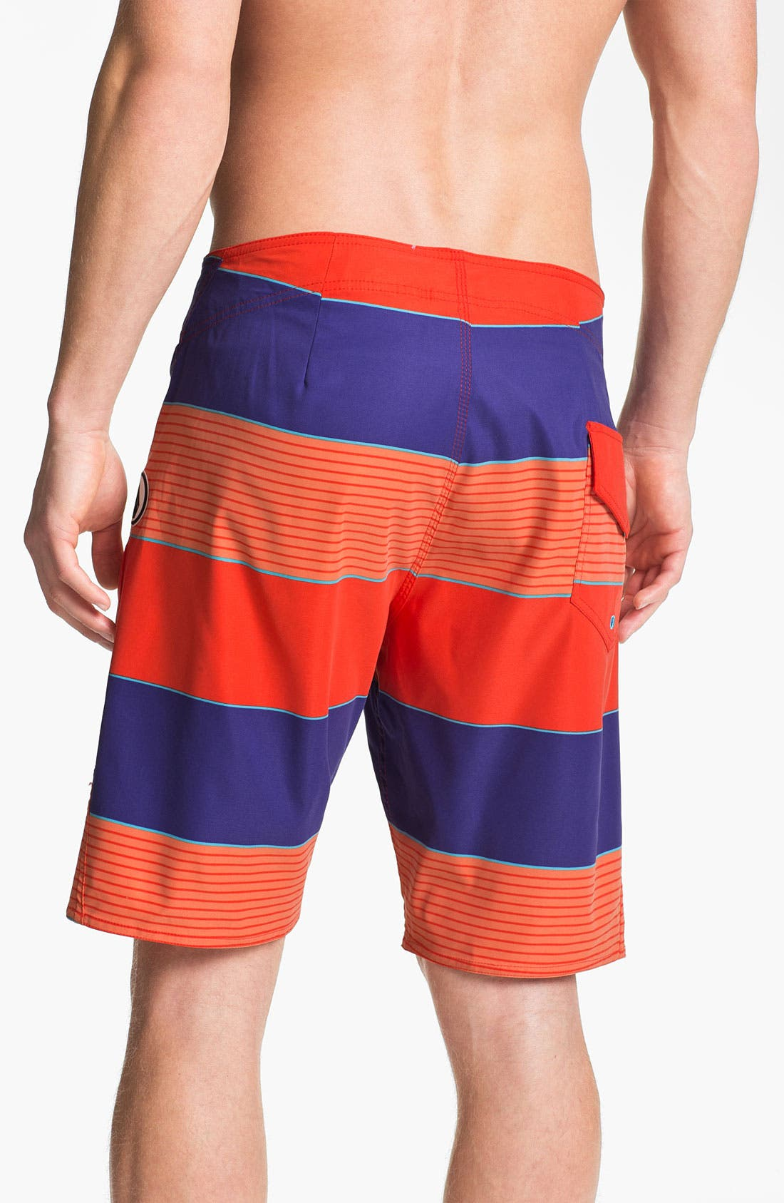 Alternate Image 2  - Volcom 'Maguro' Stripe Board Shorts
