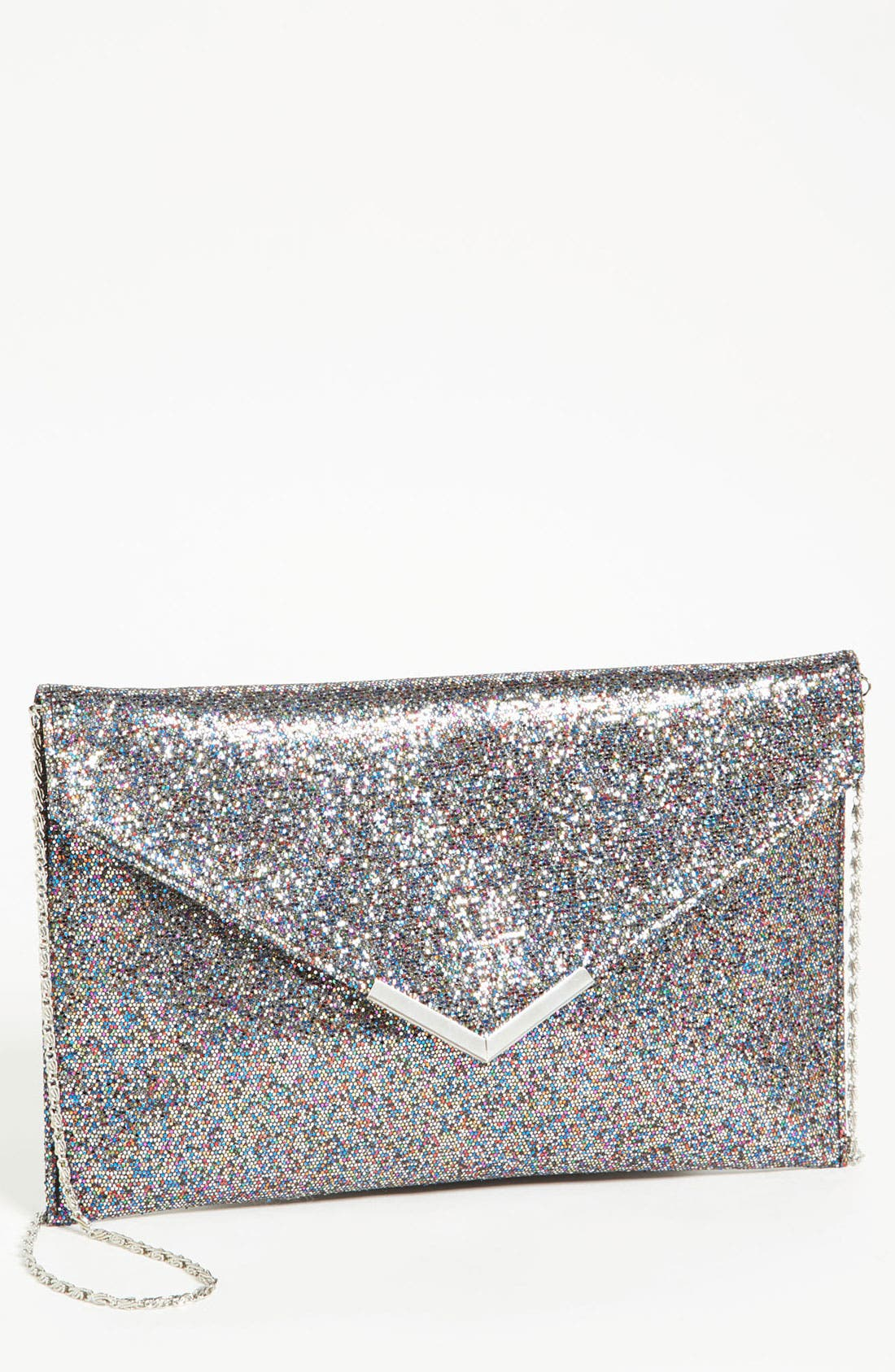 Alternate Image 1 Selected - Tarnish Glitter Envelope Clutch