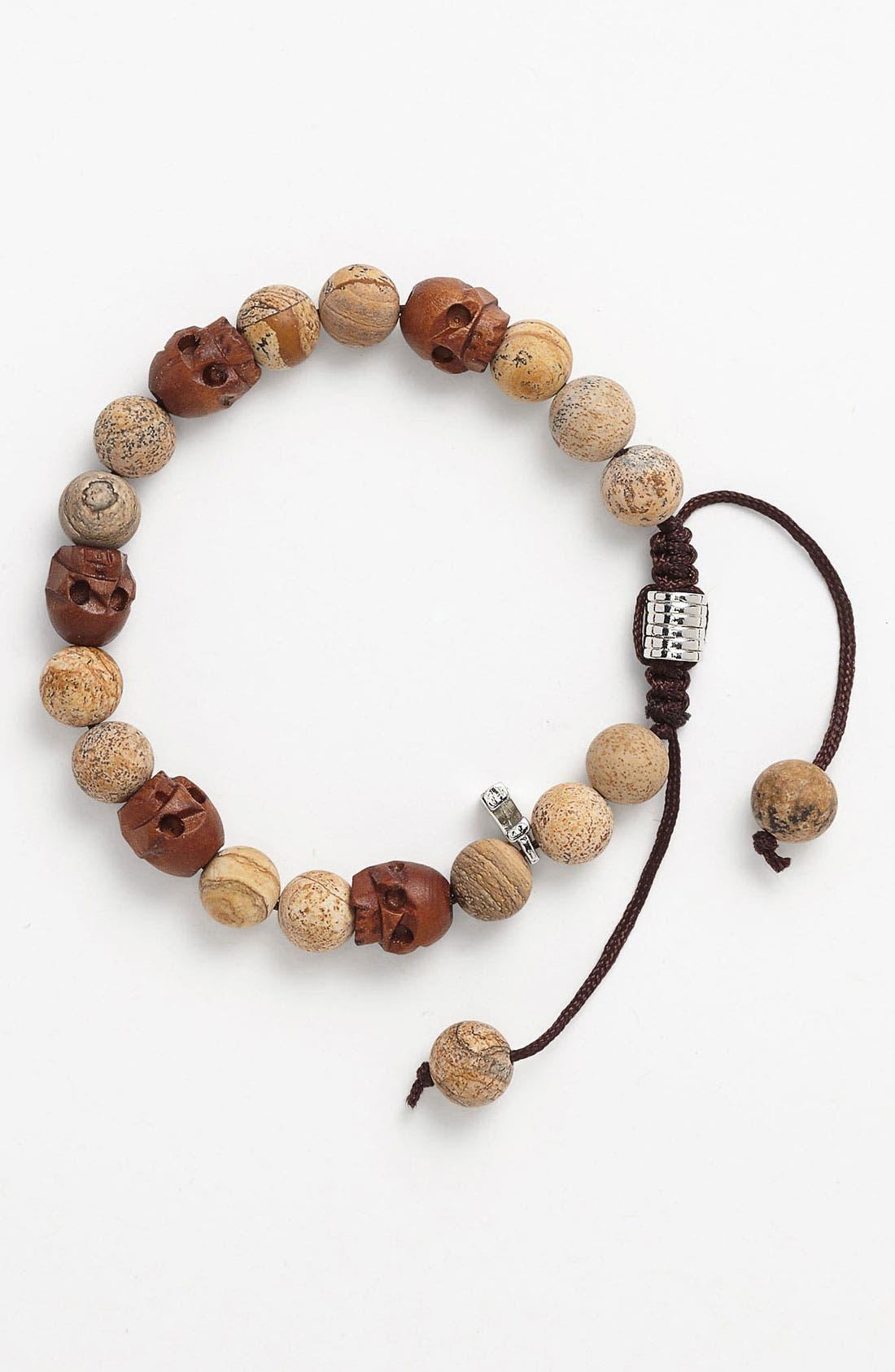 Alternate Image 1 Selected - Zack Beaded Hemp Bracelet