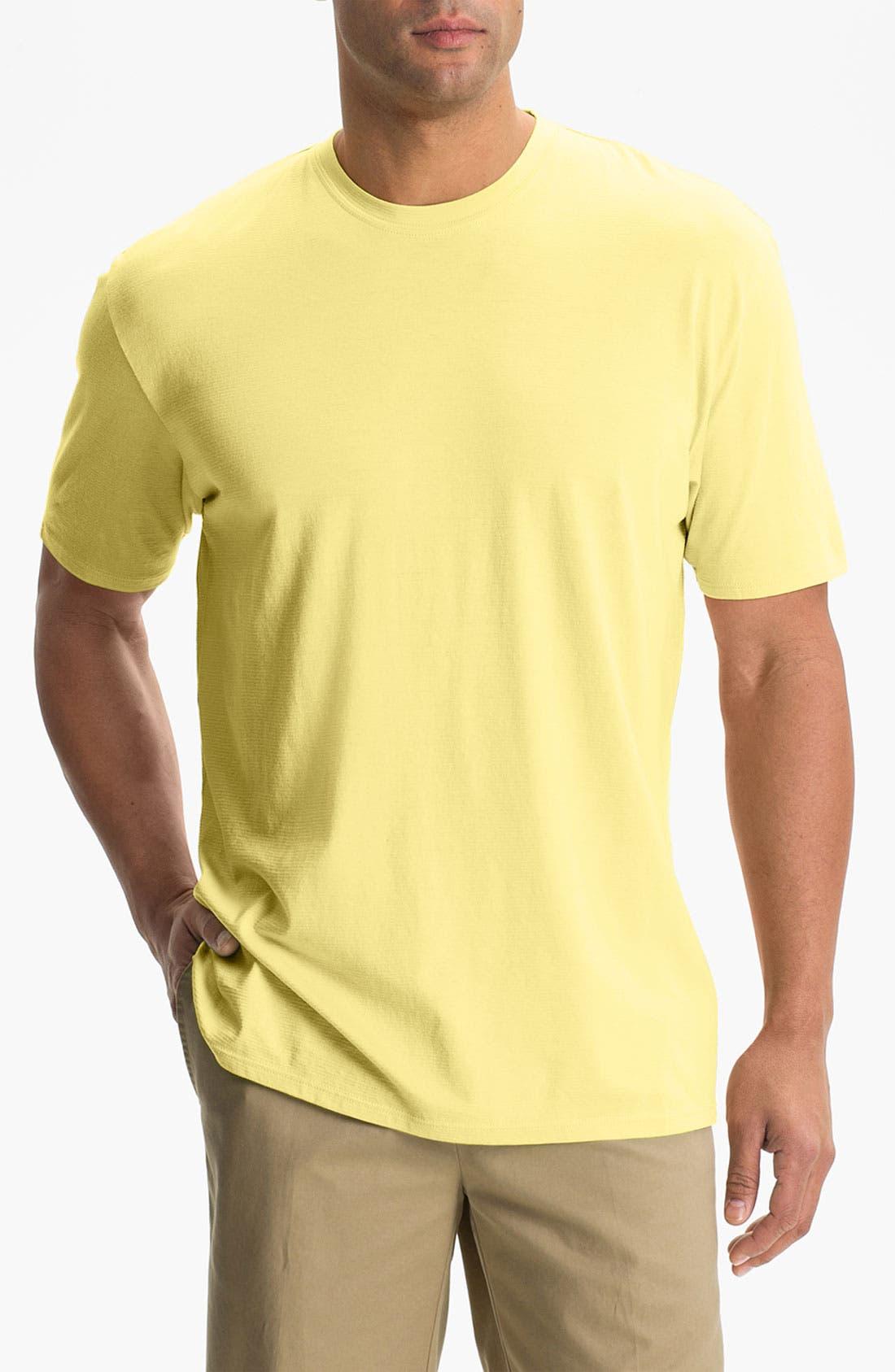 Alternate Image 1 Selected - Cutter & Buck Crewneck T-Shirt (Big & Tall)