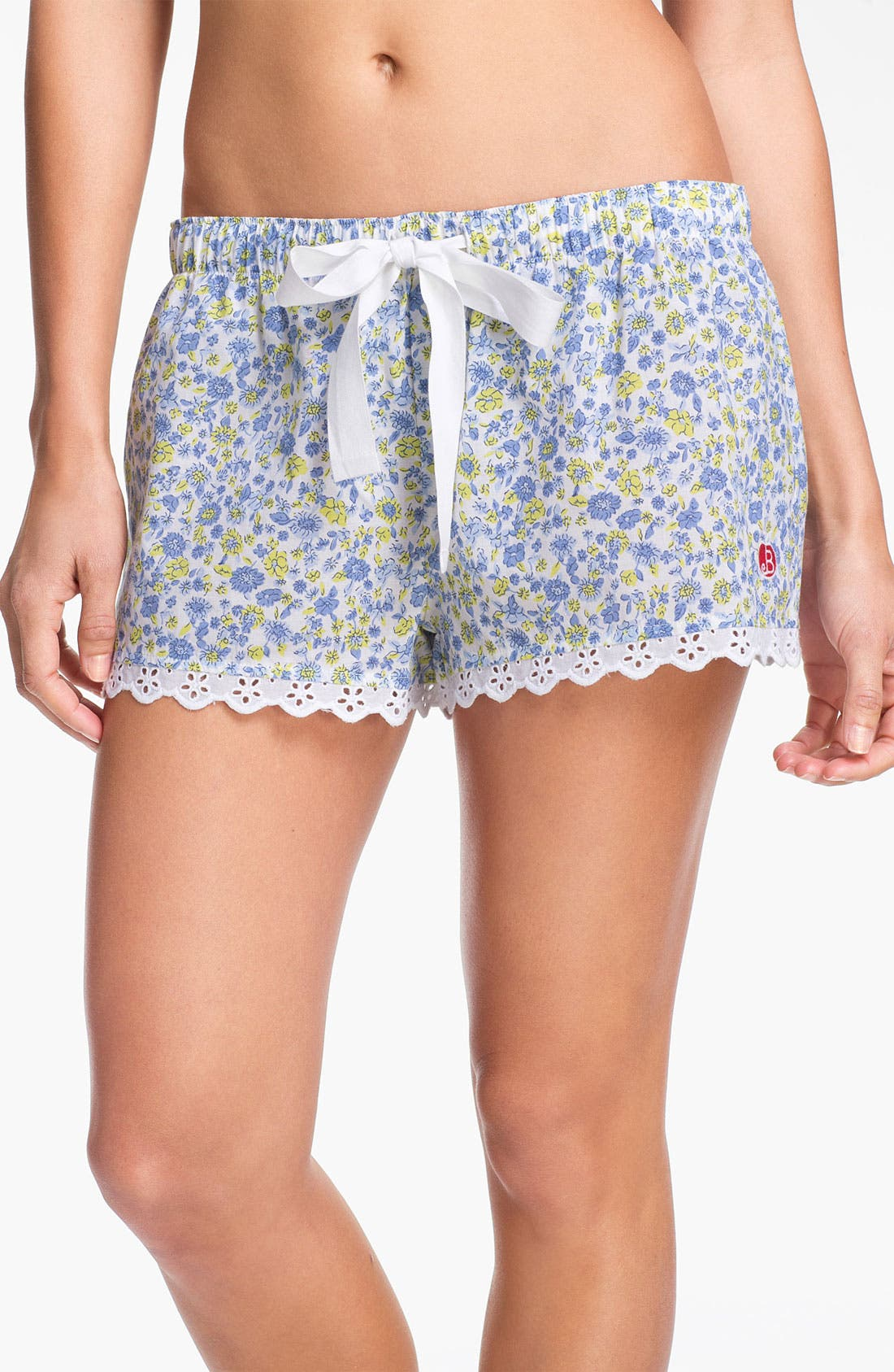 Main Image - Jane & Bleecker New York Floral Print Boxer Shorts