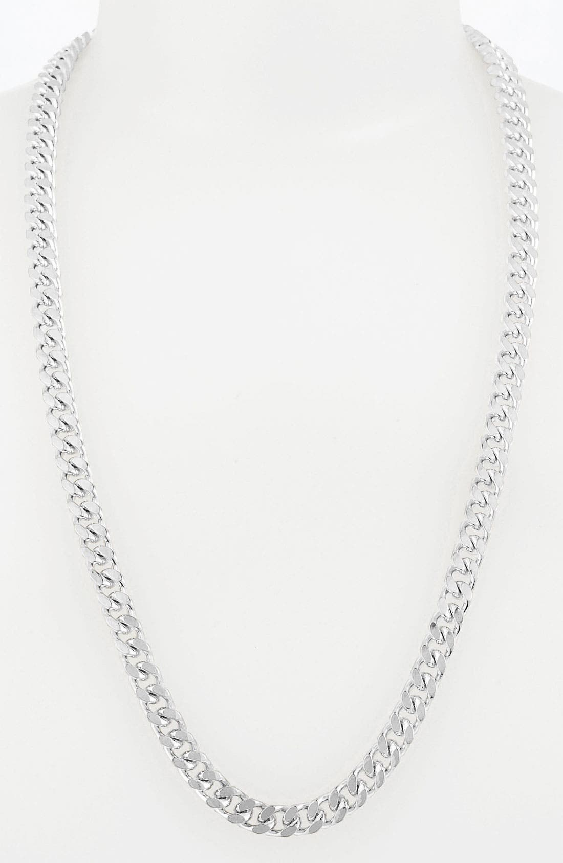 Alternate Image 1 Selected - Vince Camuto Long Curb Chain Necklace