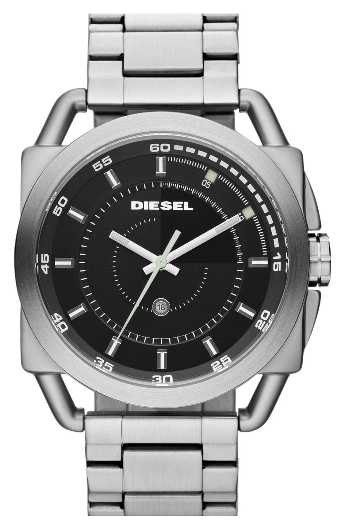 Main Image - DIESEL® 'Descender' Bracelet Watch, 50mm