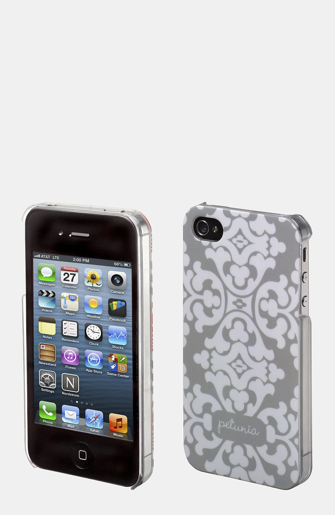 Alternate Image 1 Selected - Petunia Pickle Bottom 'Adorn' Hardcover iPhone 4 & 4S Case
