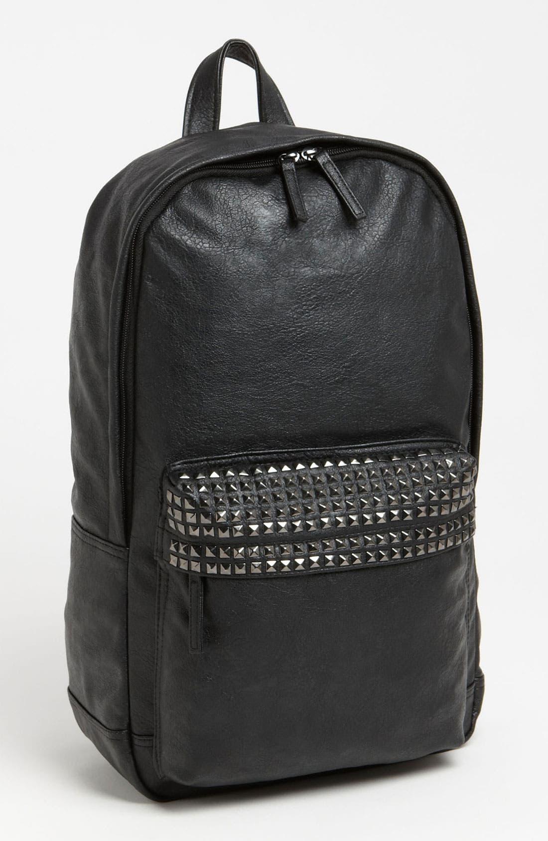 Alternate Image 1 Selected - Topman Studded Backpack