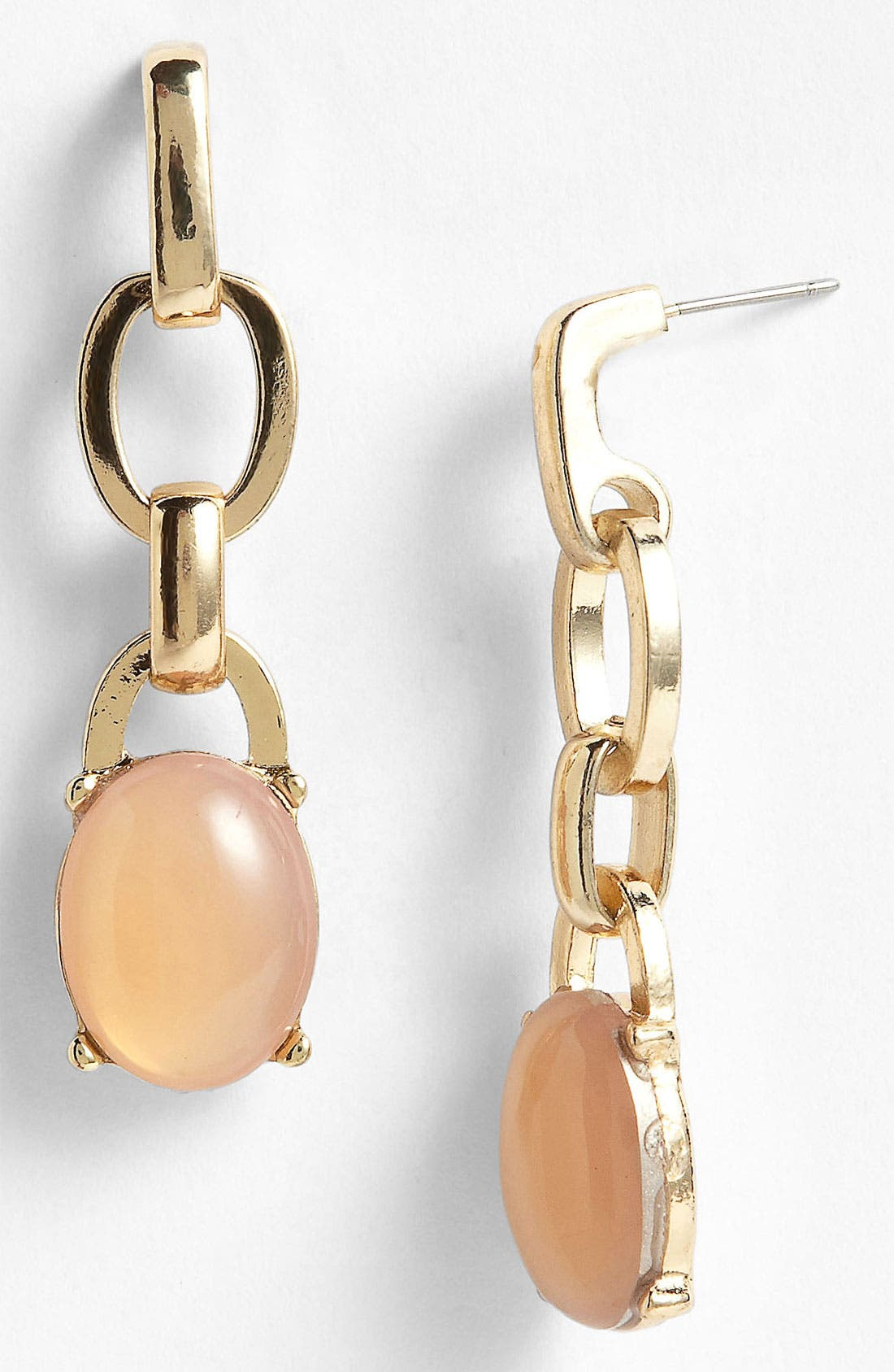 Alternate Image 1 Selected - Anne Klein Linear Earrings