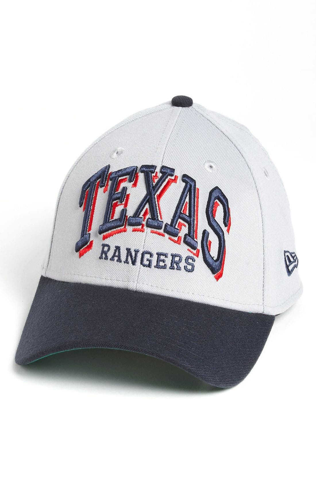 Alternate Image 1 Selected - New Era Cap 'Texas Rangers - Arch Mark' Fitted Baseball Cap