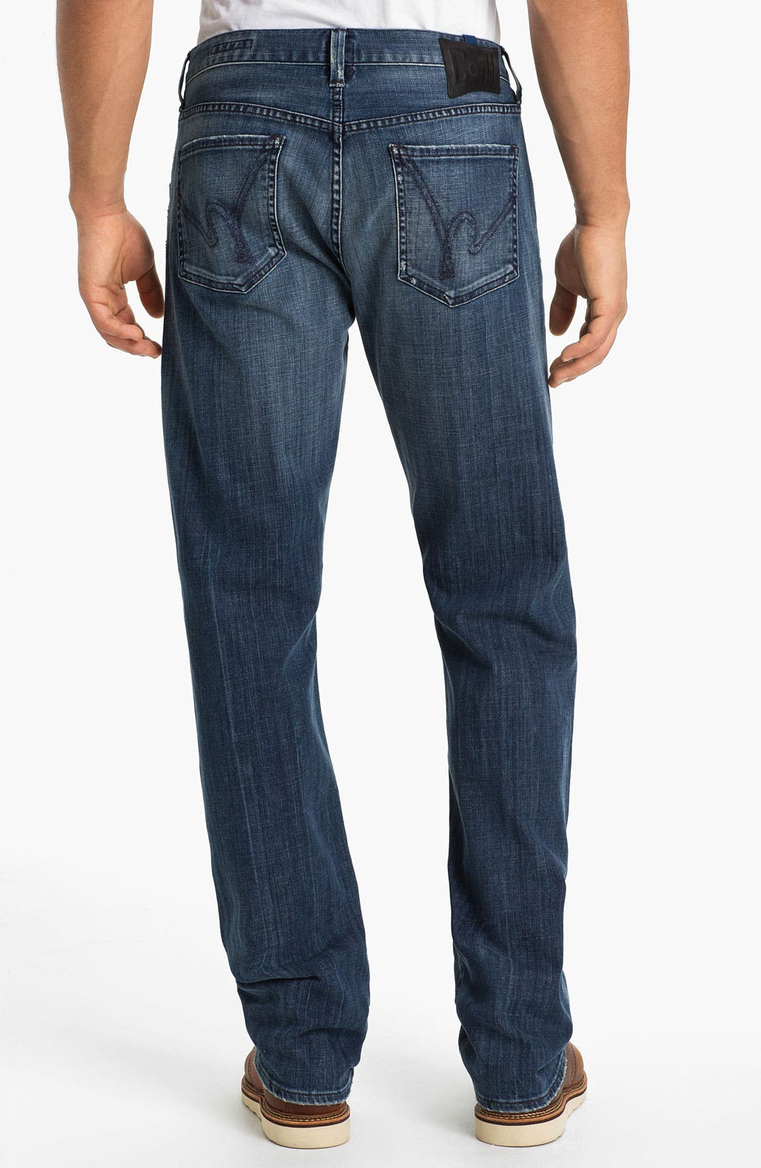 Alternate Image 2  - Citizens of Humanity 'Perfect' Relaxed Leg Jeans (Sterling)