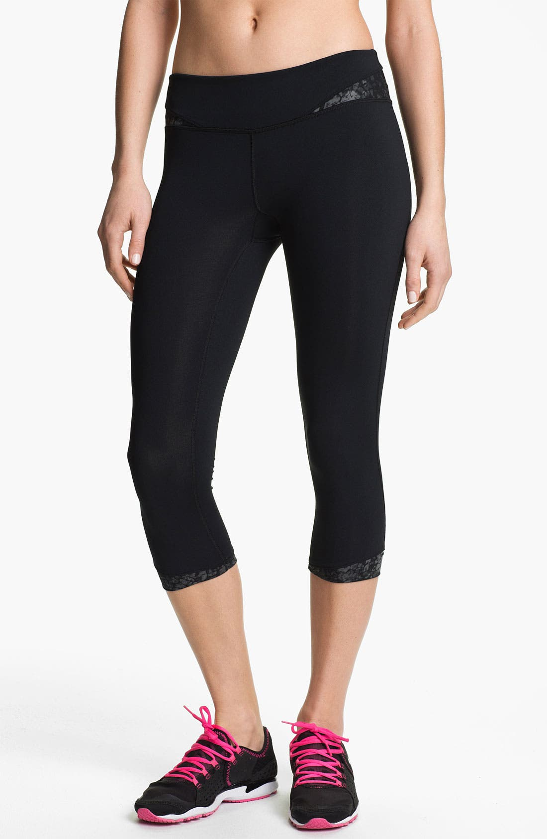 Alternate Image 1 Selected - Under Armour 'All in One' Capri Leggings