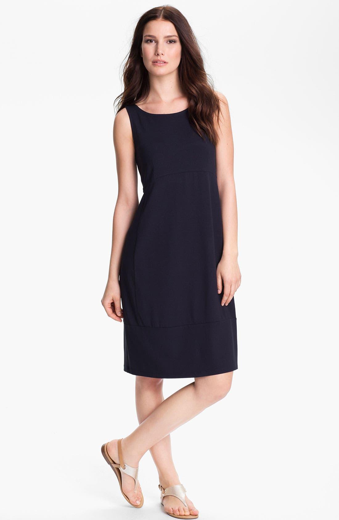 Alternate Image 1  - Eileen Fisher Cutout Sleeveless Dress