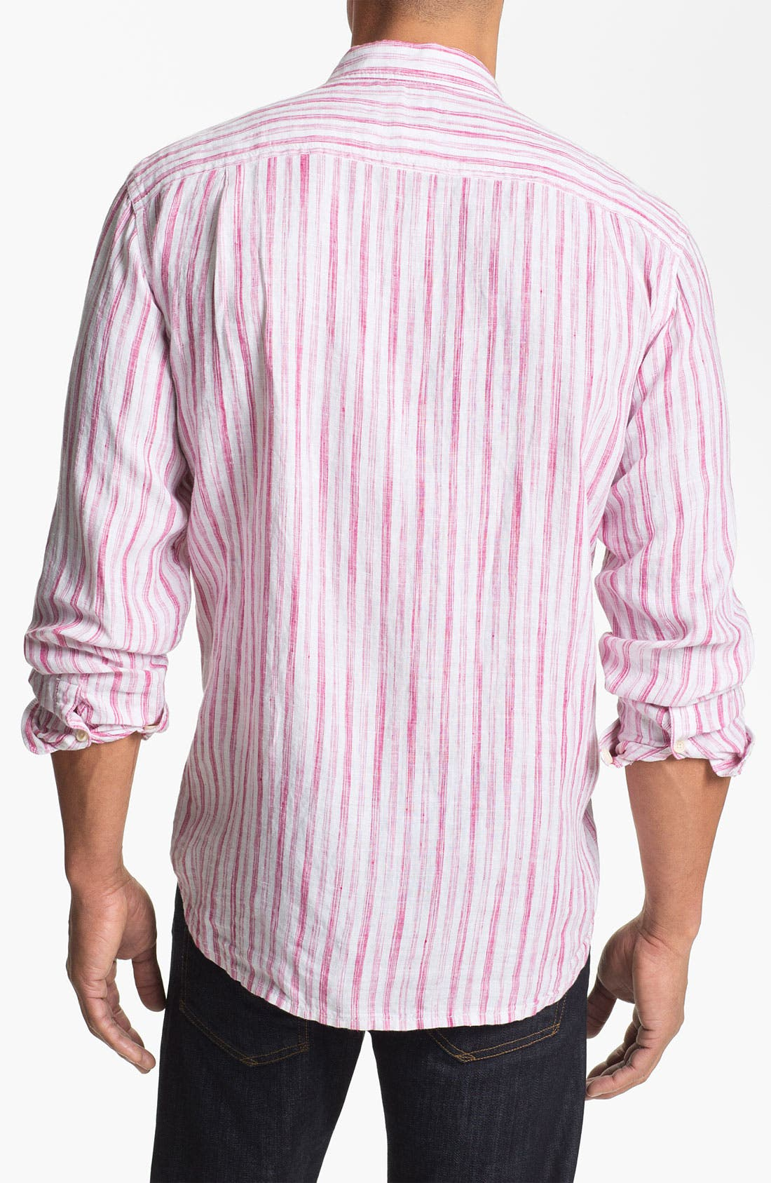 Alternate Image 2  - Tommy Bahama 'Academy' Regular Fit Sport Shirt (Big & Tall)