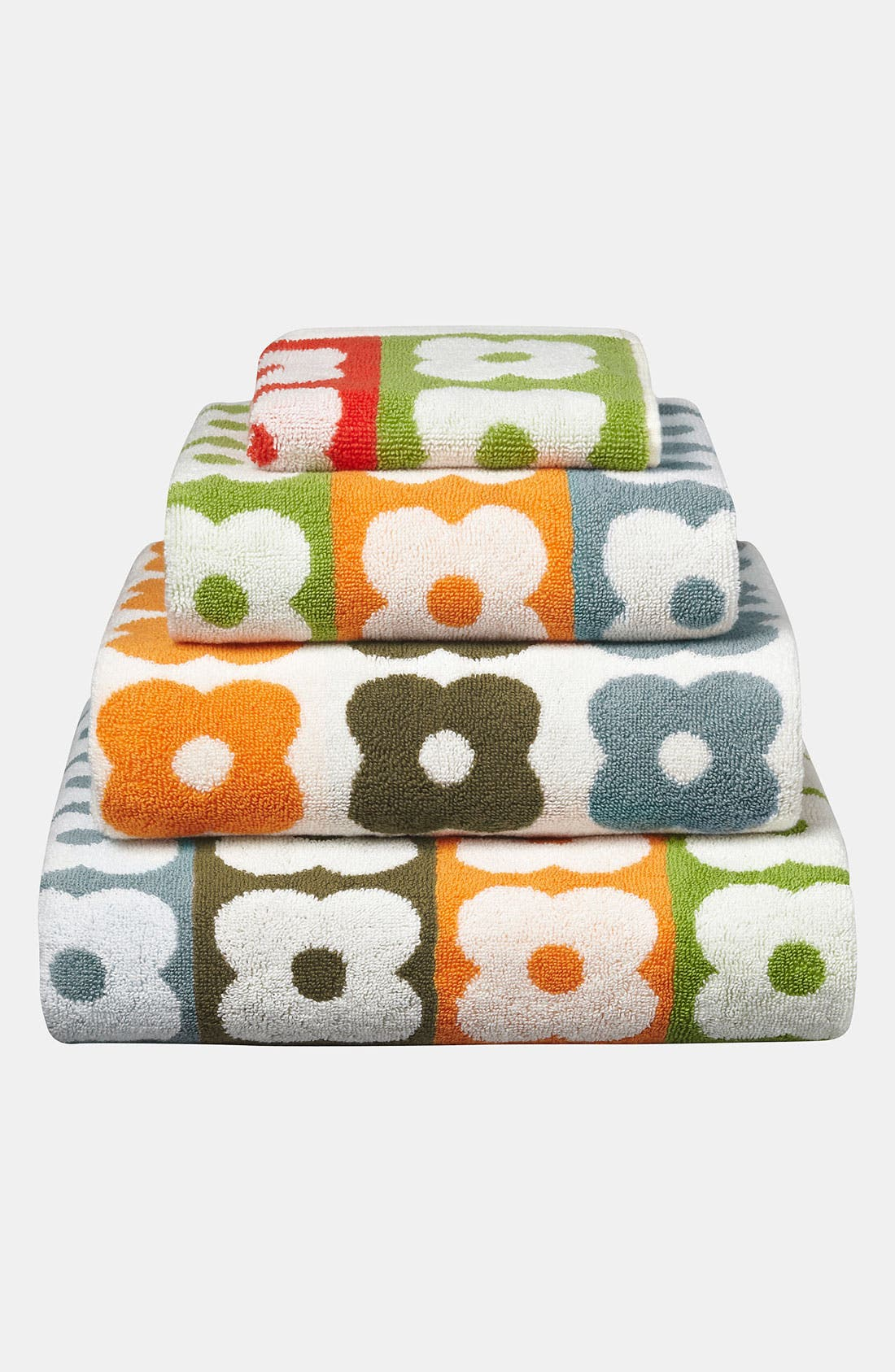 Alternate Image 1 Selected - Orla Kiely 'Multi Flower Stem' Hand Towel