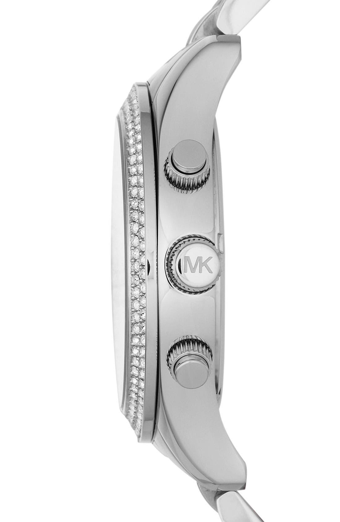 Alternate Image 2  - Michael Kors 'Layton' Chronograph Bracelet Watch, 44mm