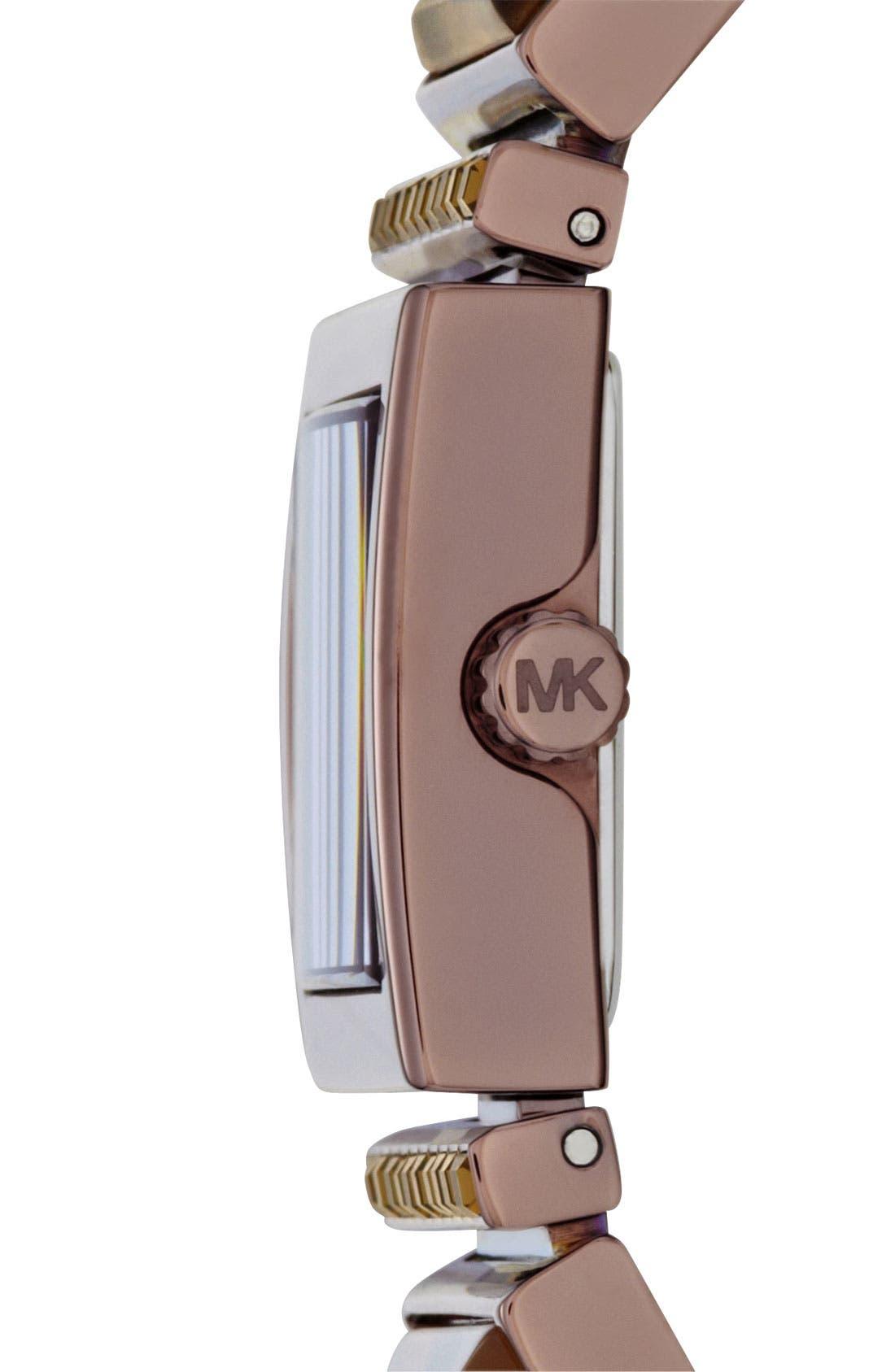 Alternate Image 2  - Michael Kors 'Erin' Baguette Stone Bracelet Watch