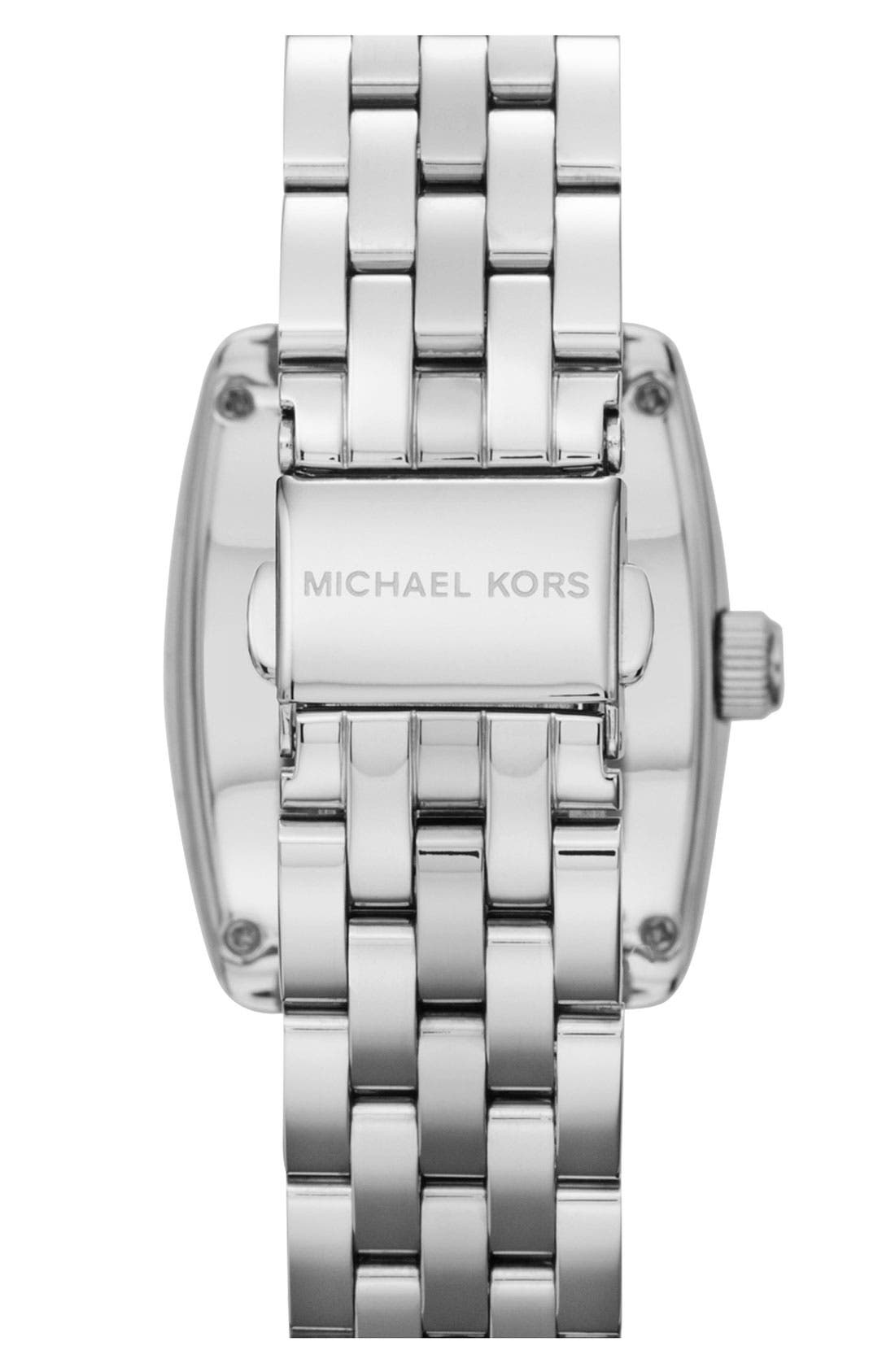 Alternate Image 3  - Michael Kors 'Emma' Square Bracelet Watch
