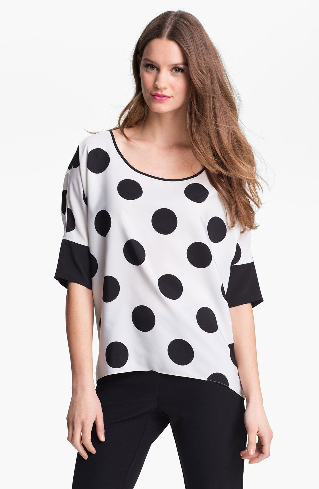 Main Image - Kenneth Cole New York 'Sierra' Dot Blouse
