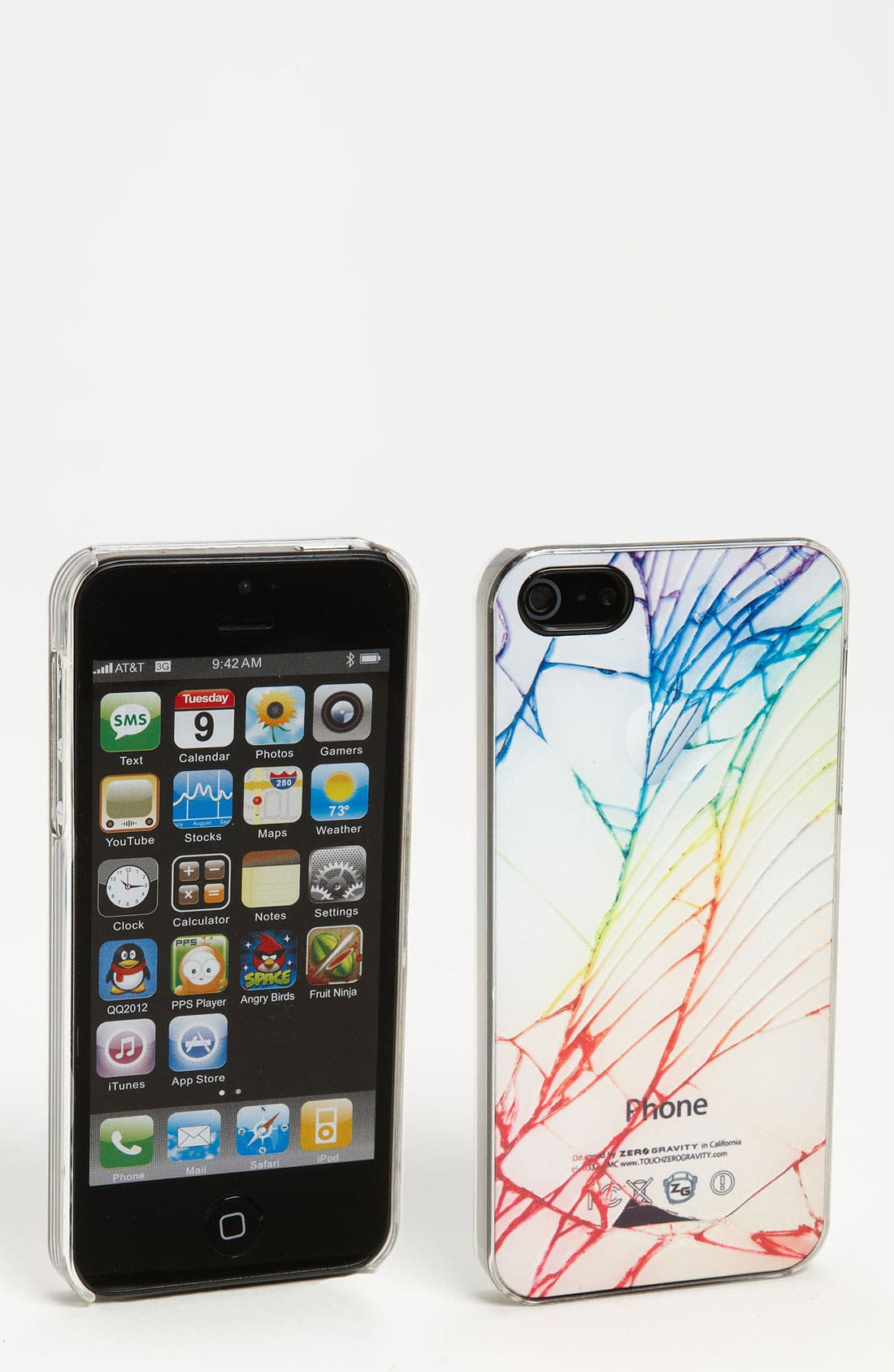 Alternate Image 1 Selected - ZERO GRAVITY 'Cracked' iPhone 5 Case