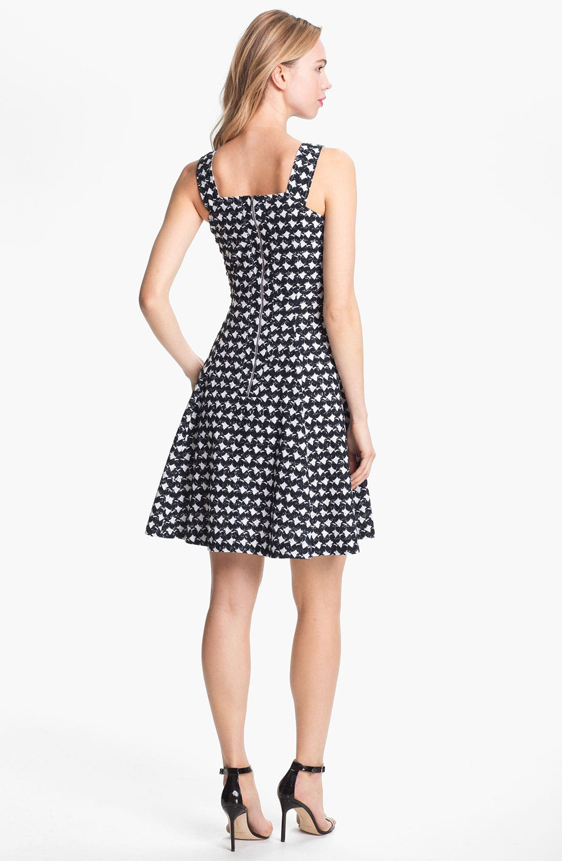 Alternate Image 2  - Theory 'Elexis' Cotton Fit & Flare Dress