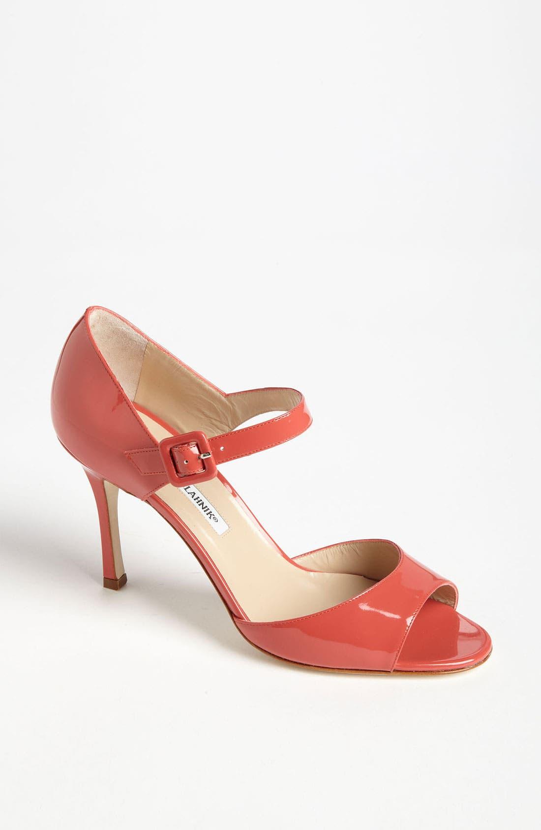 Alternate Image 1 Selected - Manolo Blahnik 'Caldo' Sandal