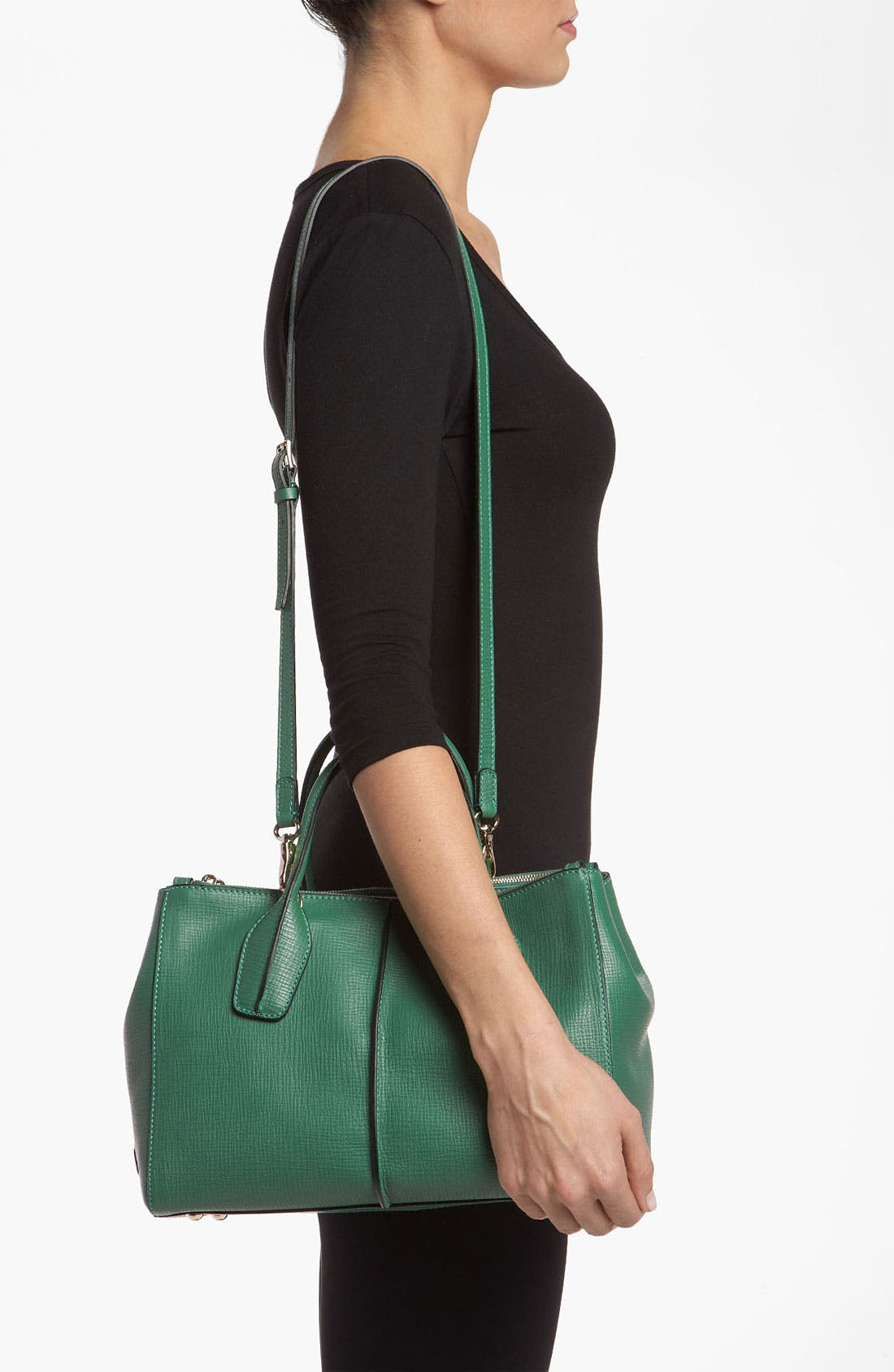 Alternate Image 2  - Tod's 'D-Styling' Two Zip Leather Shopper