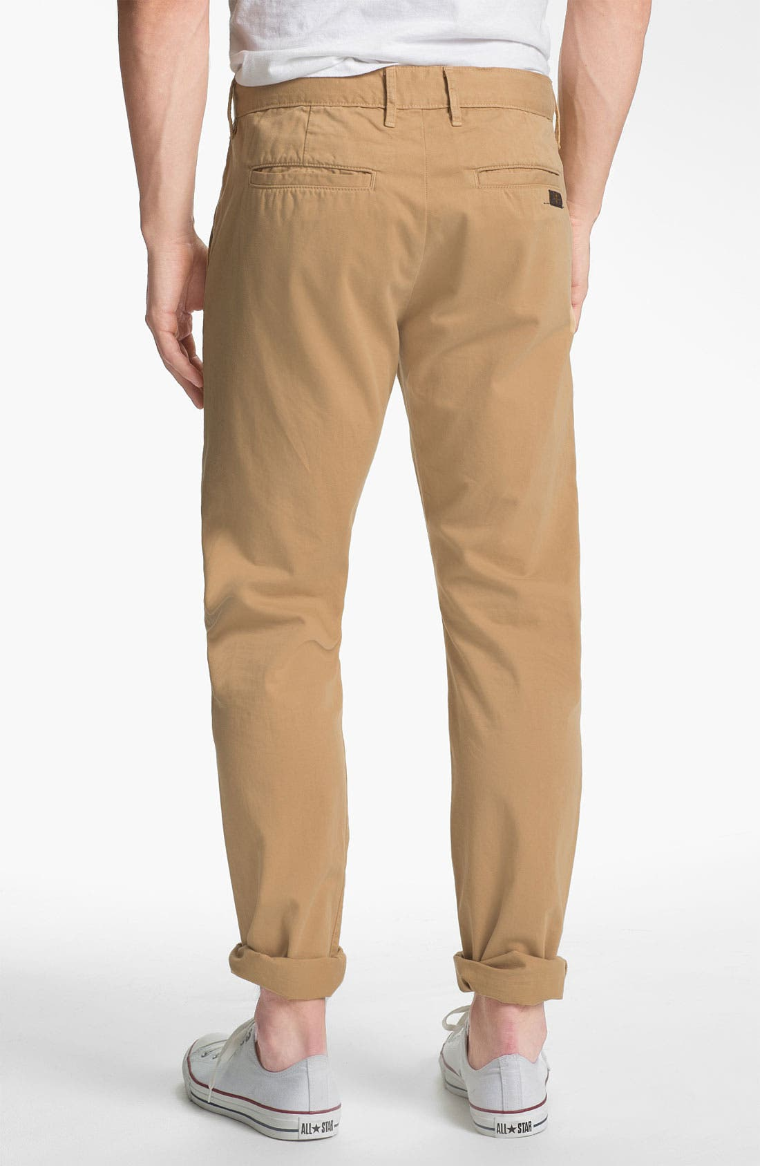 Alternate Image 2  - 7 For All Mankind® Straight Leg Chinos