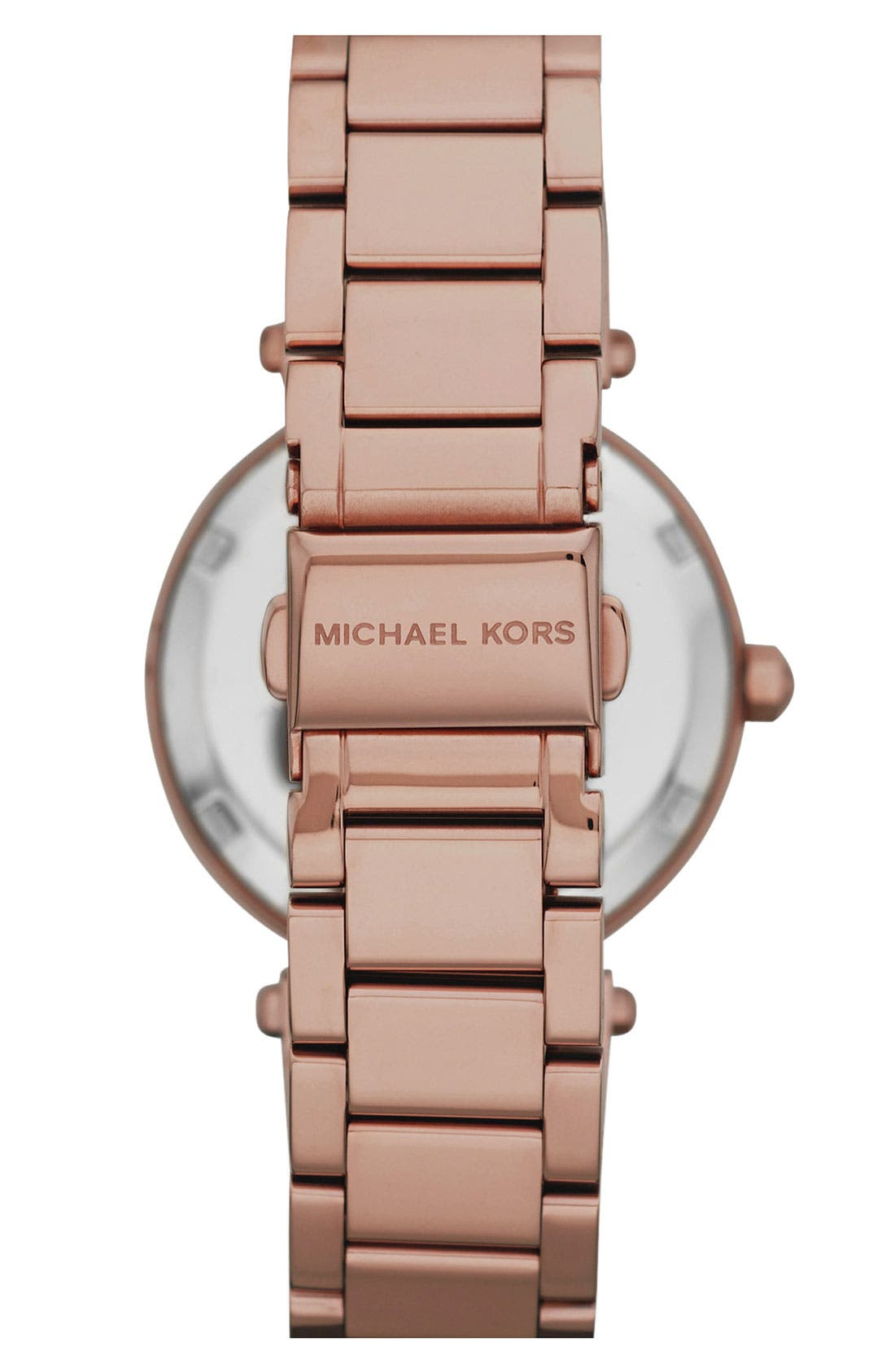 Alternate Image 2  - Michael Kors 'Parker - Mini' Multifunction Watch, 33mm