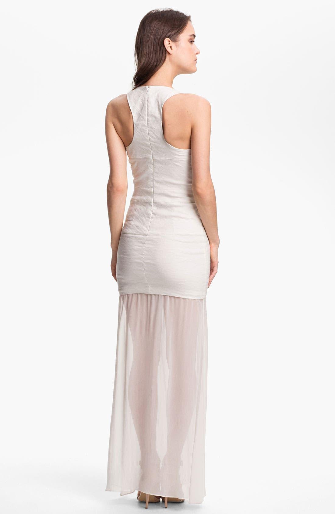 Alternate Image 2  - Nicole Miller Drop Waist Maxi Dress