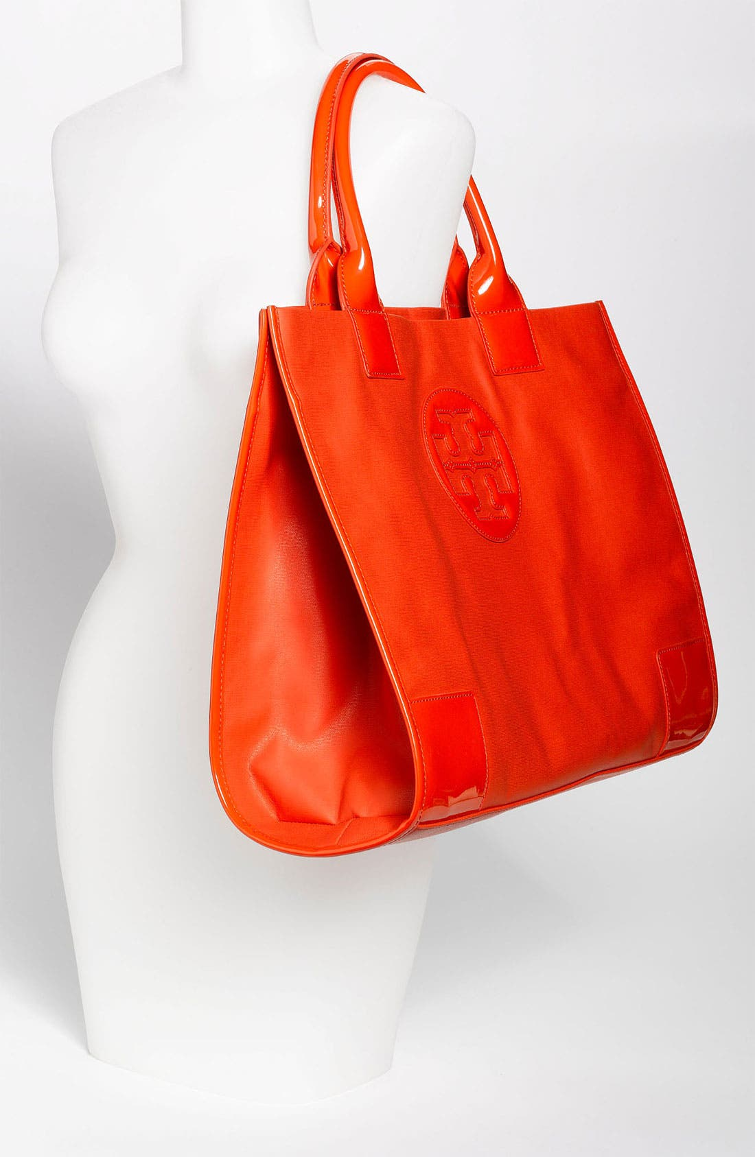 Alternate Image 2  - Tory Burch 'Ella' Dipped Canvas Tote, Extra Large