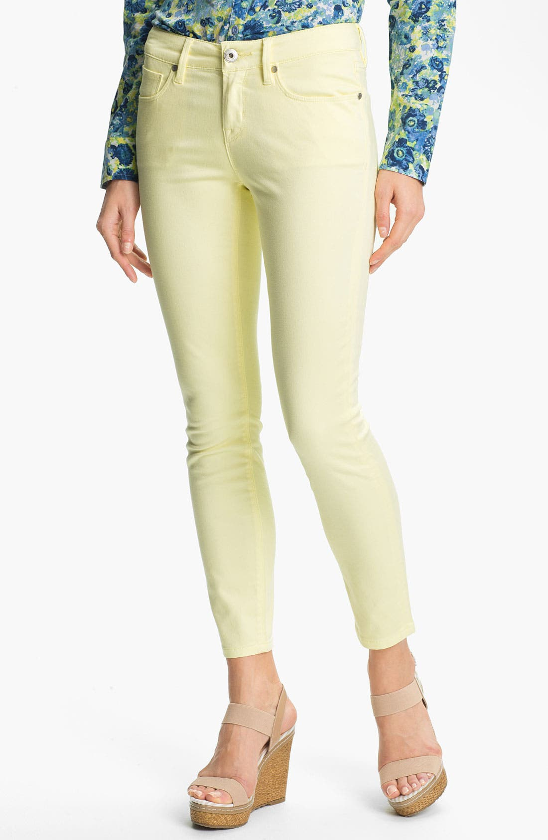 Main Image - Isaac Mizrahi Jeans Colored Skinny Jeans