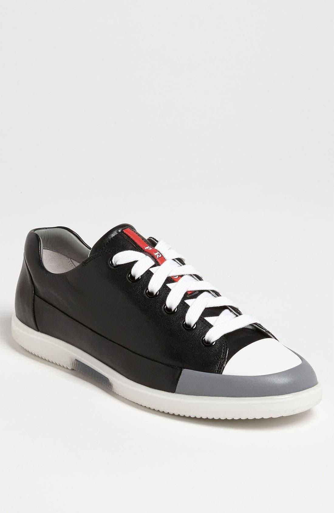 Alternate Image 1 Selected - Prada Low Profile Sneaker