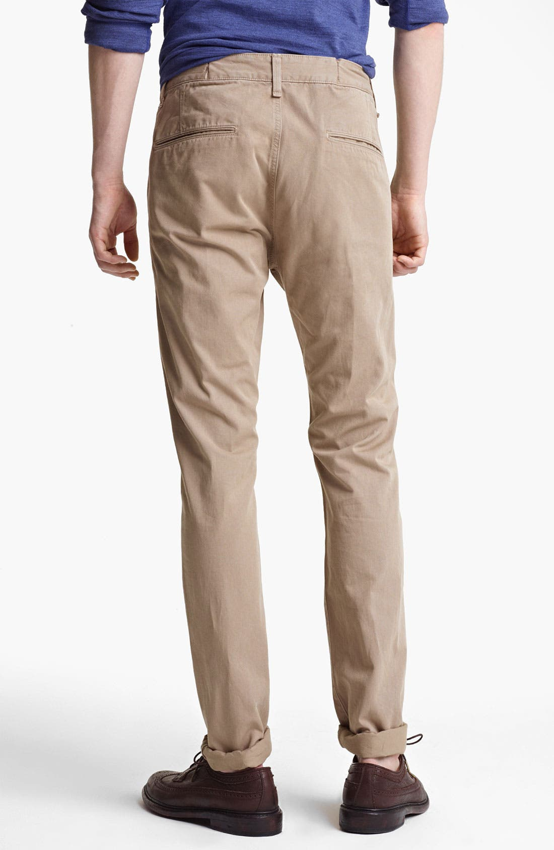 Alternate Image 2  - rag & bone 'RB7' Slim Fit Cotton Pants