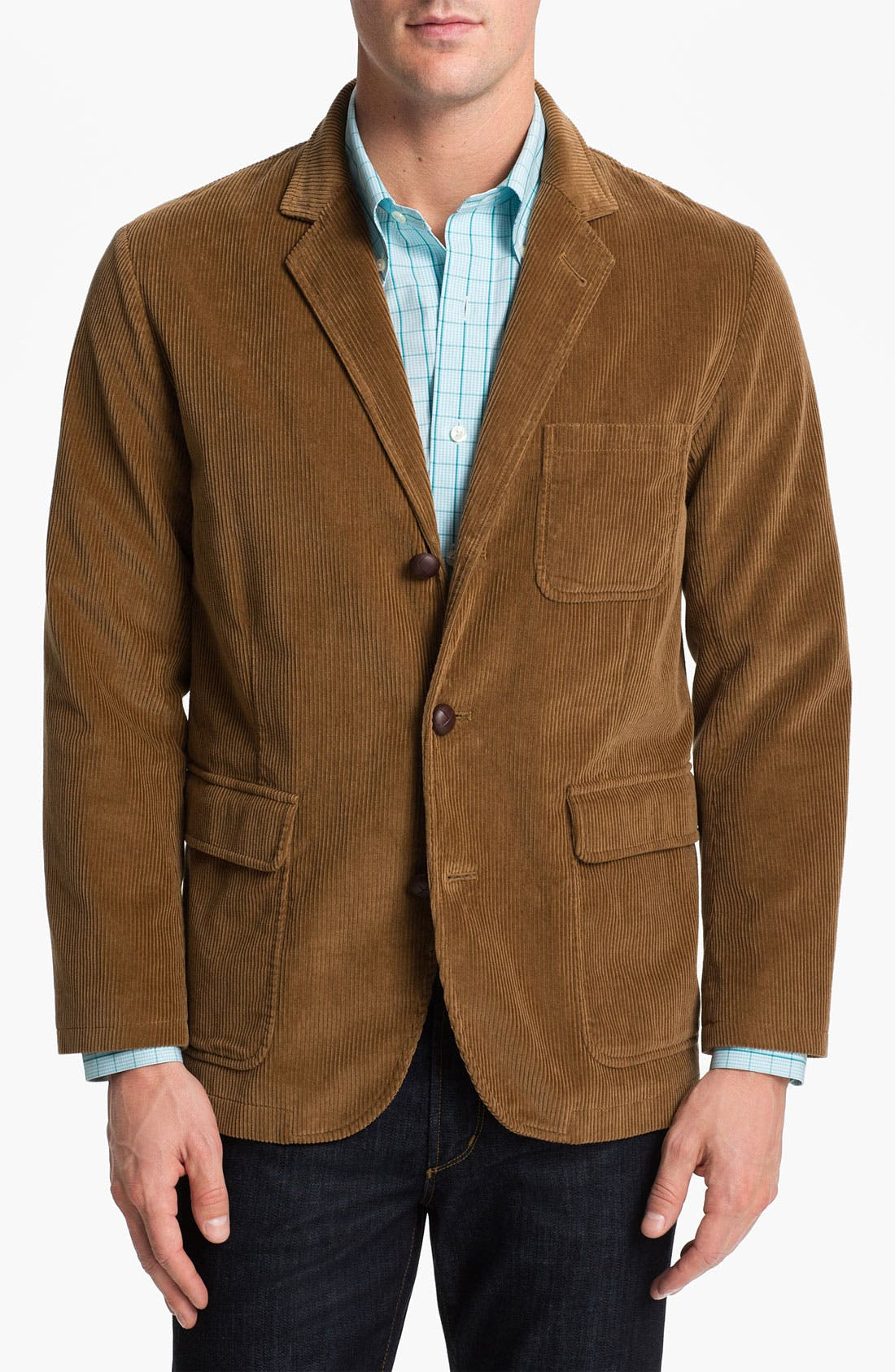 Alternate Image 1 Selected - Brooks Brothers 'University Flatiron' Corduroy Blazer
