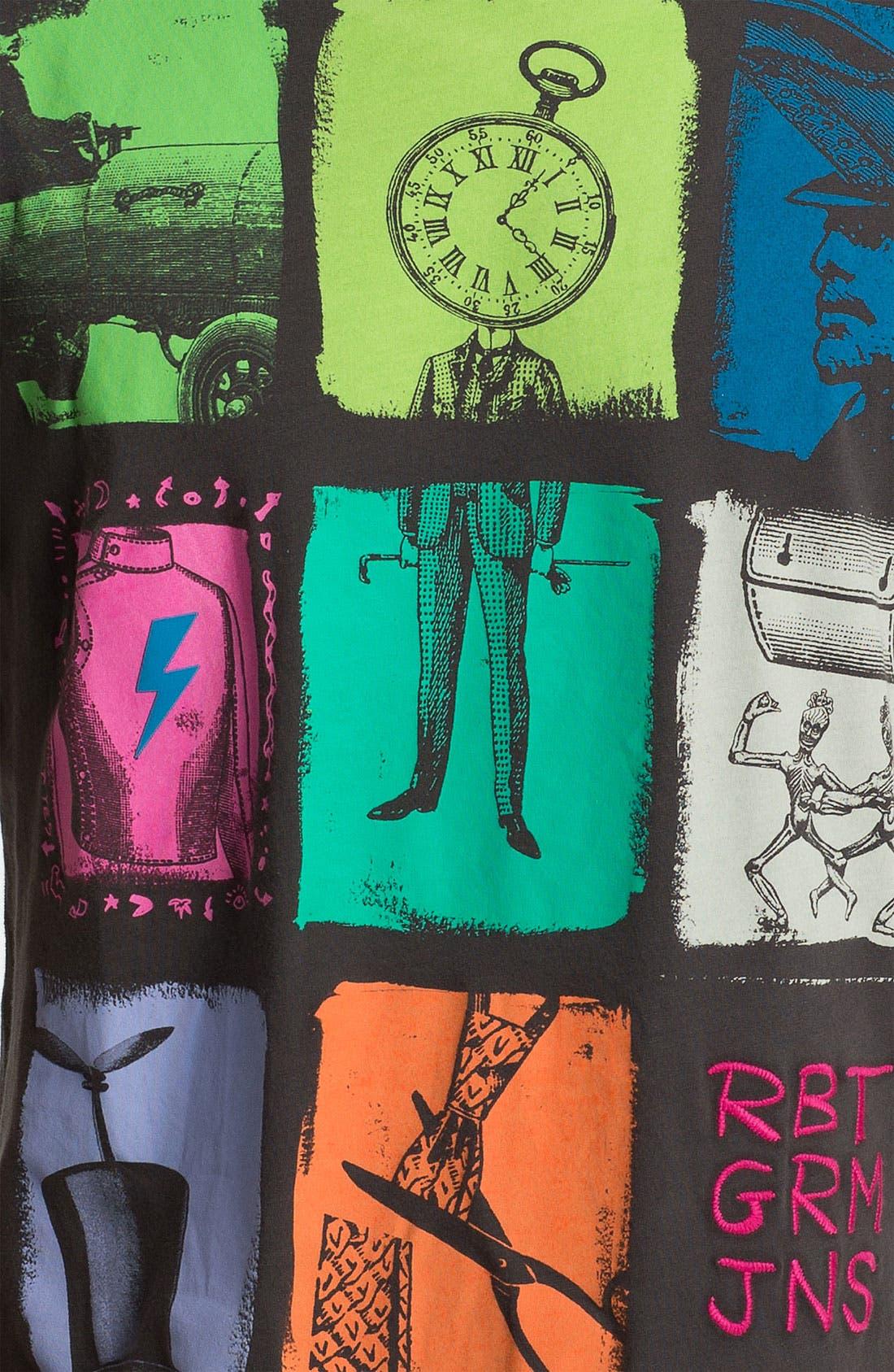 Alternate Image 3  - Robert Graham 'Patchwork' T-Shirt