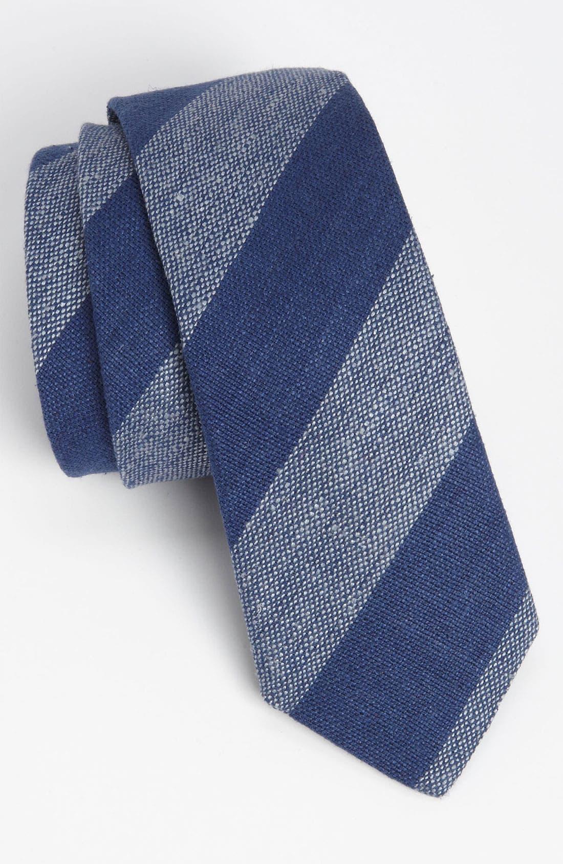 Alternate Image 1 Selected - Gitman Woven Silk Tie